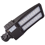 150W LED SHOEBOX LIGHT WITH SLIP FITTER AC120-277V