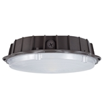 45W LED Round Slim Canopy Light 120-277V (10 YEAR WARRANTY)