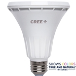 75W Equivalent Bright White PAR30 Long Neck 40 Degree Flood Dimmable LED Light Bulb